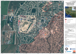 Damage Assessment Map - Western part of Krymsk