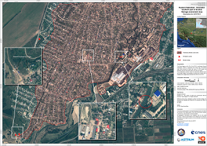 Damage Assessment Map - Southern part of Krymsk