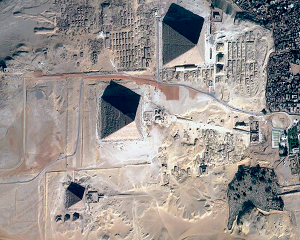 Egypt's three pyramids
