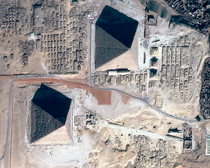 Two of Egypt's pyramids