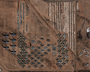 Planes, Tuckson - Arizona, USA