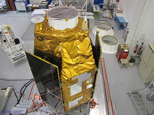 PLEIADES satellite vibration tests