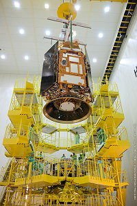 Preparation of PLEIADES-HR1A installation on Fregat stageat