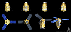 Illustration Satellite Pleiades
